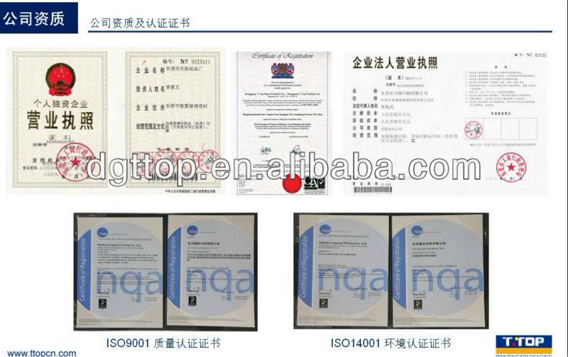 FSC;Custom Printing 6 pack Cardboard Wine Carriers