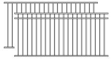 wrought iron fencing lowes