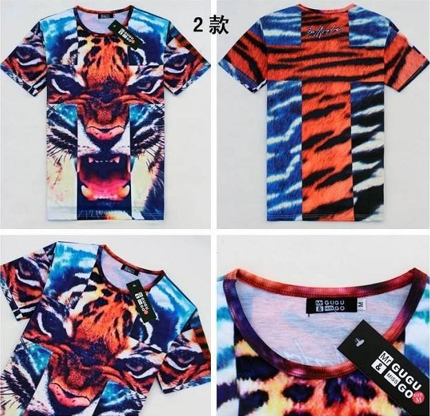 Мужская футболка Size: M L XL XXL 3D
