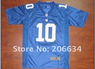Wholesale - -2012 New Style Women's New York Giants 80# Cruz Blue  Jersey size:S~XXL+Free Shipping