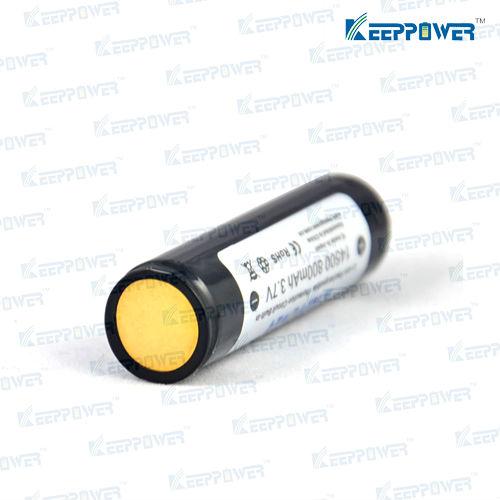 14500 800mAh - KeepPower li-ion protected 14500 battery for Sanyo UR14500P