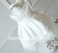 Платье для девочек retail-1pcs Chiffon grade girl dress - the noble drilling noble waist chiffon baby dress