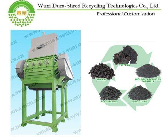 Caoutchouc crumb plantes d chets de recyclage de pneus machines vendre mach - Paillis caoutchouc recycle ...