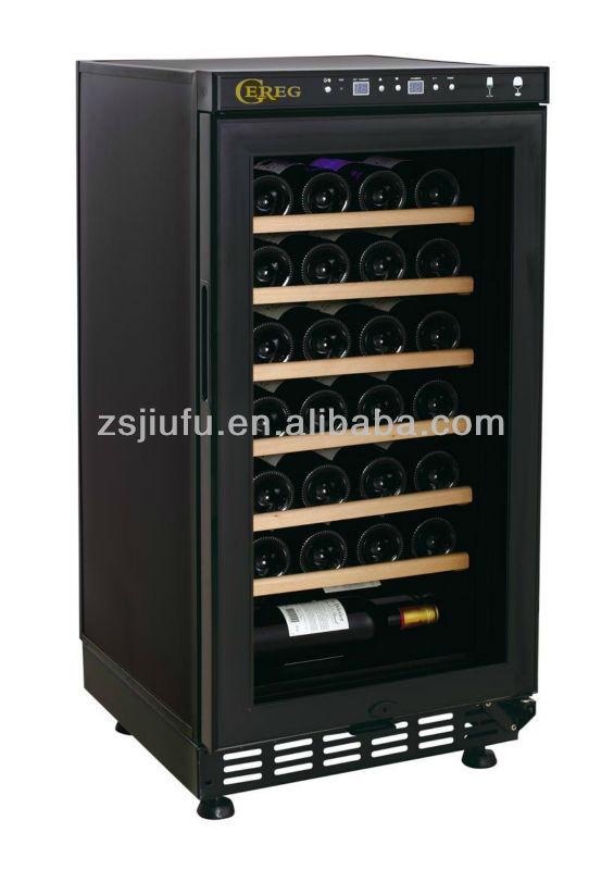 28-bottle make wood wine rack red wine storage cabinet