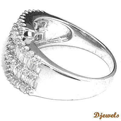 14 K White Gold Diamond Rings, Wedding Rings, Diamond jewelry