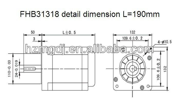FHB31318 detail dimension