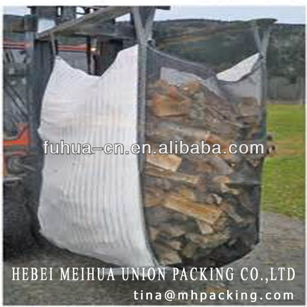 PP firewood big bag/bulk firewood ventilated bag