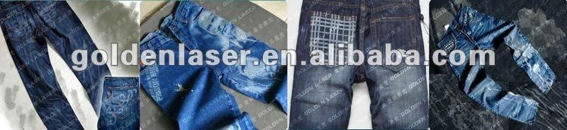 800 jeans laser engraving