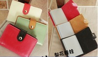 Визитница colorful Synthetic PU Leather 26pcs ID Credit Card Holder Case q116