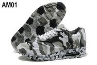Мужская обувь для бега 14 new men's max camouflage running shoes army camo forest training shoes sneakers slip-resistant air mesh8 Холст, сетка (Air Mesh) Шнуровка Весна / осень