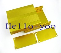 100*76*36mm (L*W*H) Aluminum Project Box Enclousure Case Electronic DIY case free shipping