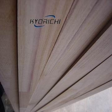 Paulownia finger joints wooden board