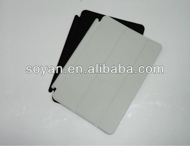 for mini ipad leather case, custom case