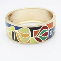 Ювелирное изделие Rose Gold Plated Muslim Style Enamel Jewelry Bangle, 1 pc/pack