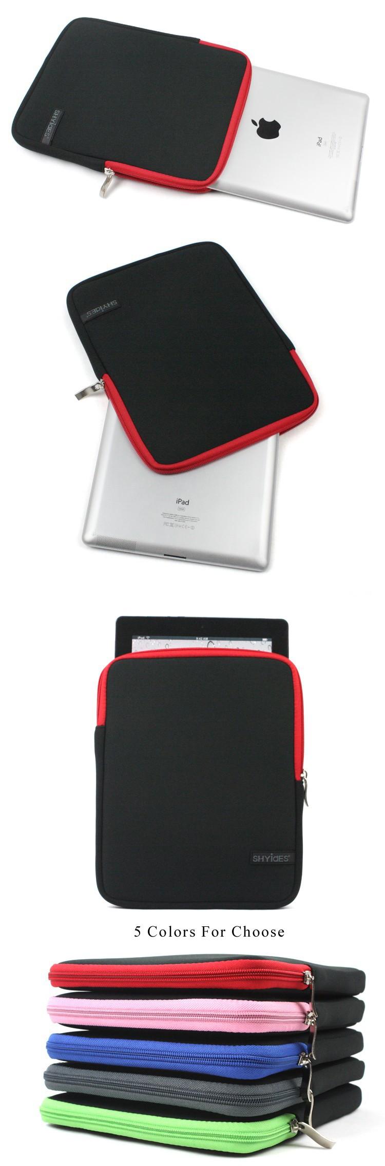 к 2015 году 9.7 10-дюймовый ноутбук сумка планшет чехол Обложка водонепроницаемые мешки для apple ipad воздуха 5 4 3 samsung galaxy tab 3