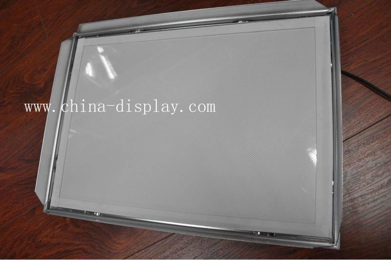 Light Frame With Snap Frame For LED Light Box