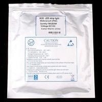 белый / теплый белый 5m smd 3528 150 привело полосы света постоянного тока 12В ip65 водонепроницаемый эпоксидной 2.4w / м светодиодная лента 5 м/рулон