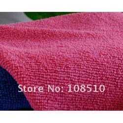 Weft nanometer water-absorbent microfiber  dry hair  cleaning towel 60 * 40 clean