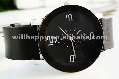 Couro da forma presente do relógio dos homens aliexpress ( SW-404 )