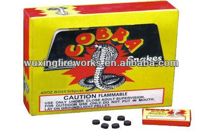 Cobra Black Snakes Fireworks Item Name Cobra Black Snakes