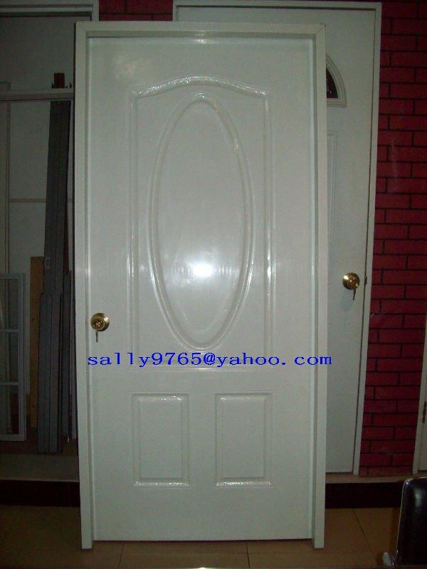 Patio de metal cristal puertas met licas puerta for Puertas de metal para casa