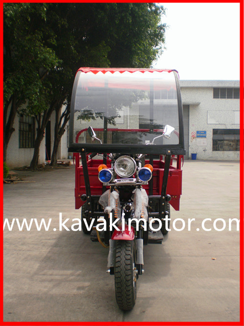KAVAKI Lastest Design Motorcycle Triporteur/Trailer With Front Covered