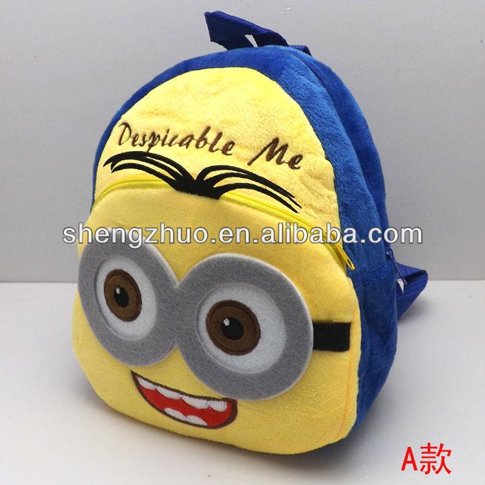 Despicable со мной фавориты плюшевый рюкзак, два глаза,изображение продукта-Ru.makepolo.com