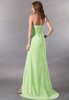 Вечернее платье 1pc/lot One shoulder Dresses New Fashion 2012 Formal Party Prom Actual Wedding Dress CL3183