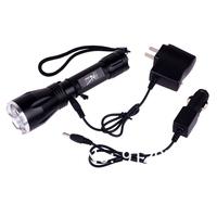 высокое качество и недорогие ultrashine r8 cree q5 привело 3-режиме 300 люмен привело фонарик факел