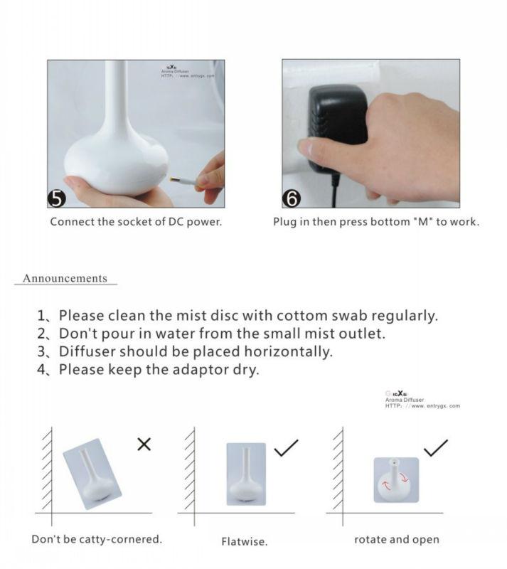 GX Diffuser- brand new design toilet freshener