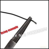 3pcs/lot Iron Mini Long Black Needle Pin Nose Pliers Jewelry Beading Tool Making Tool 123mm 180012