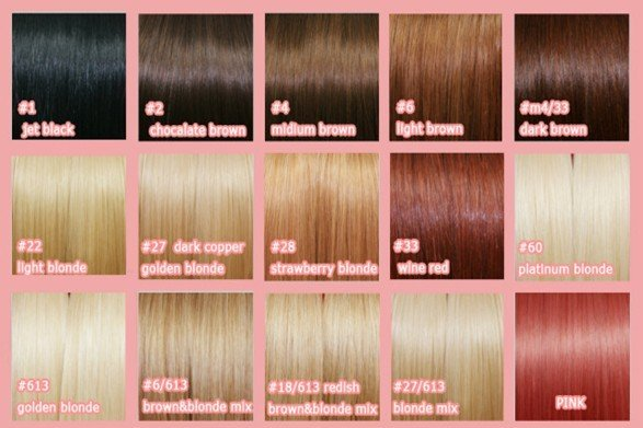 weave hair color 33. Color: any color in color