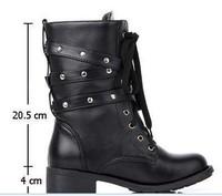Женские ботинки PU