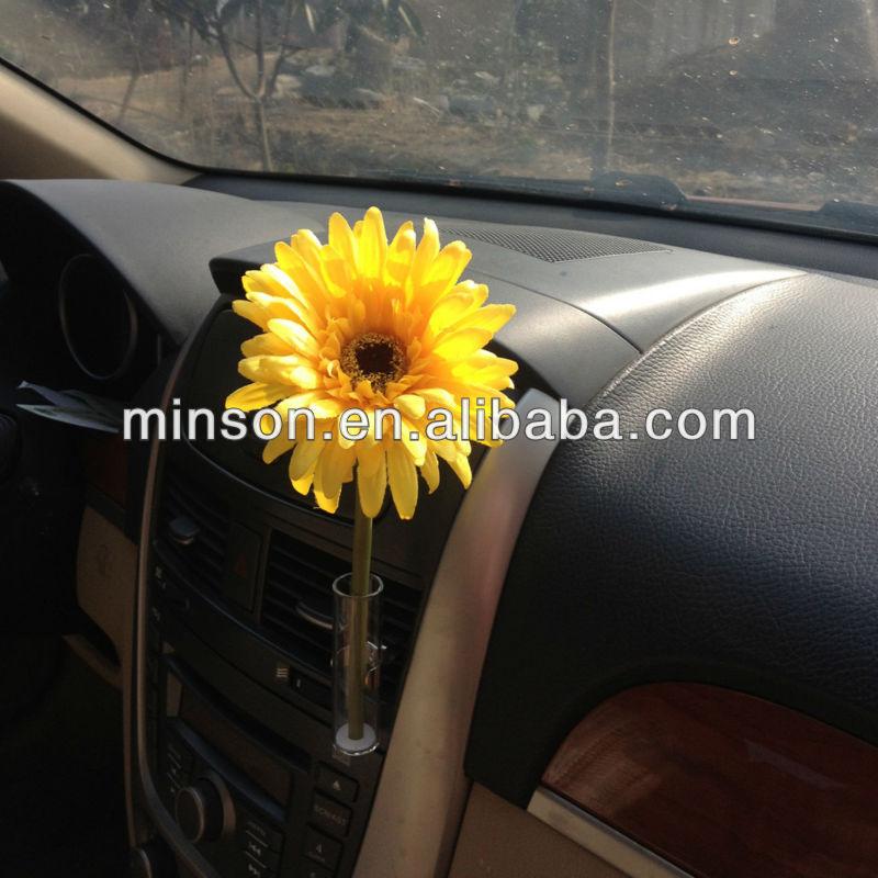 Fashion Car Auto Flower Set Vaseclip Fit Any Air Vent Beetle Vw