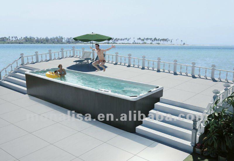 En fiber de verre de la piscine m 3325 baignoire bains th rapeutiques id de produit 523265718 for Piscine en fibre de verre