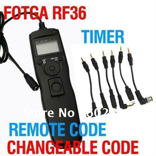 Fotga Changeable Timer Remote Cord for Nikon D7000 D5000 D90 D3100 D3000 Wholesale OEM