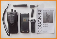 FREE Shipping KENWOOD TK3207 UHF FM Radio Transceiver with Battery & Charger