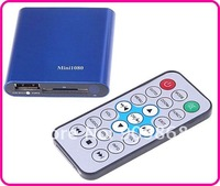 1080P Full HD Player Mini Multi-Media Player with Remote Control HDMI Output Support USB/SD MKV/RM/RMVB With Retailed Packing