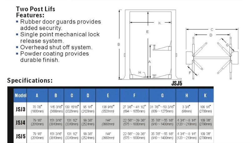 10000 Lb Car Lift >> Wholesale 10000lb hydraulic Two-Post lift car - Alibaba.com