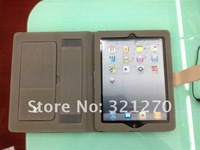 Чехол для планшета Buniness Leather Case with Built-in Stand for iPad 3 case the New cover for iPad