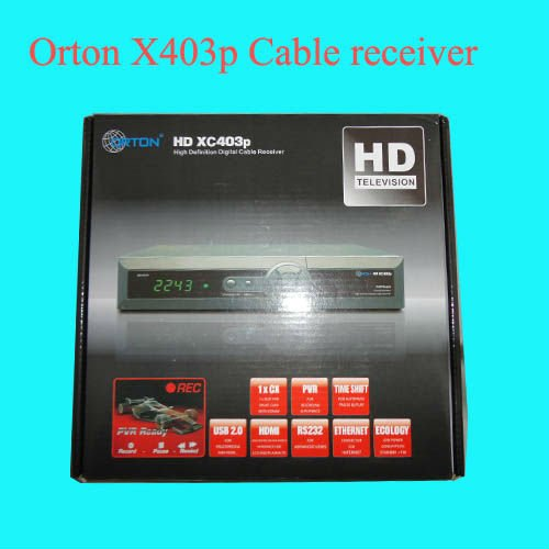 New orton XC403p HD cable receiver