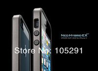 Pc+Silicone Newest SGP Neo Hybrid EX Vivid Series For IPhone 5 5G 5S bumper+Original Box Free Shipping