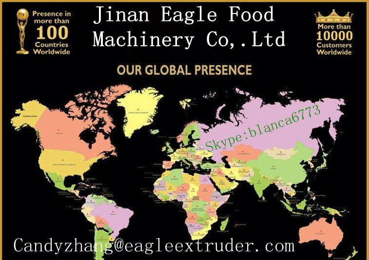 Jinan Eagle Cheese corn Curls/Kurkure/Nik Naks Cheetos Twist Snacks Making Machine