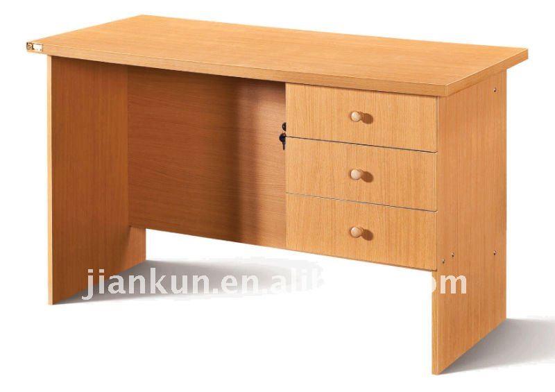 Madera oficina escritorio de la computadora, Pvc, Muebles de oficina