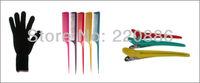 Красота волос 2 в 1 набор нано керамические выпрямления железа щипцы для завивки волос ролики волос укладка инструменты ОПИ hs135