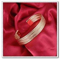 Ювелирное изделие Copper with 18k gold plated bangle