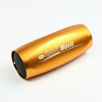 золото мини спортивные динамик mp3 плеер басовый звук для велосипеда