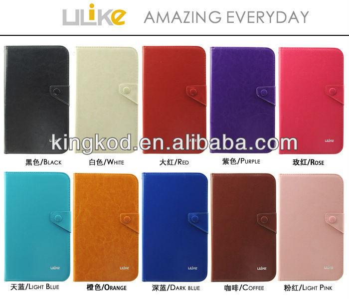 Ulike wonderful stylish leather case for ipad mini