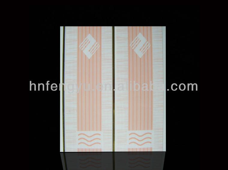 new lattice design printing groove bathroom soundproofing