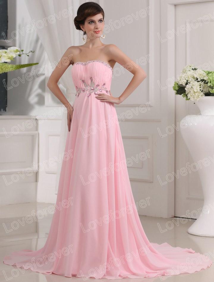 Розовое платье в пол фото